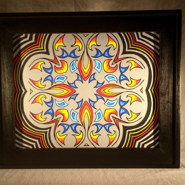 Mandala Painting By Mark Bray
