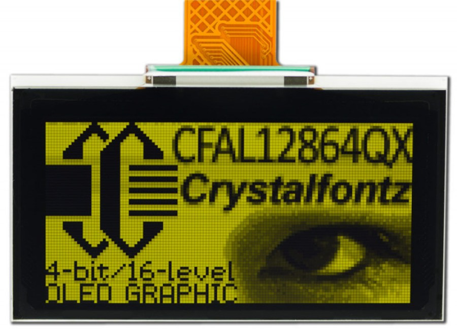 128 x 64 Graphic OLED