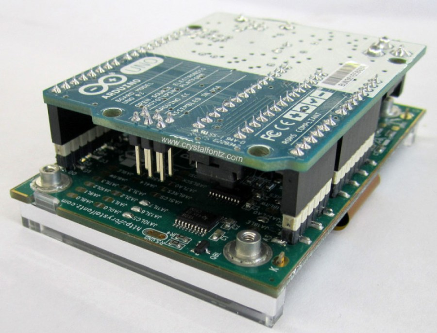 Arduino With Graphic LCD