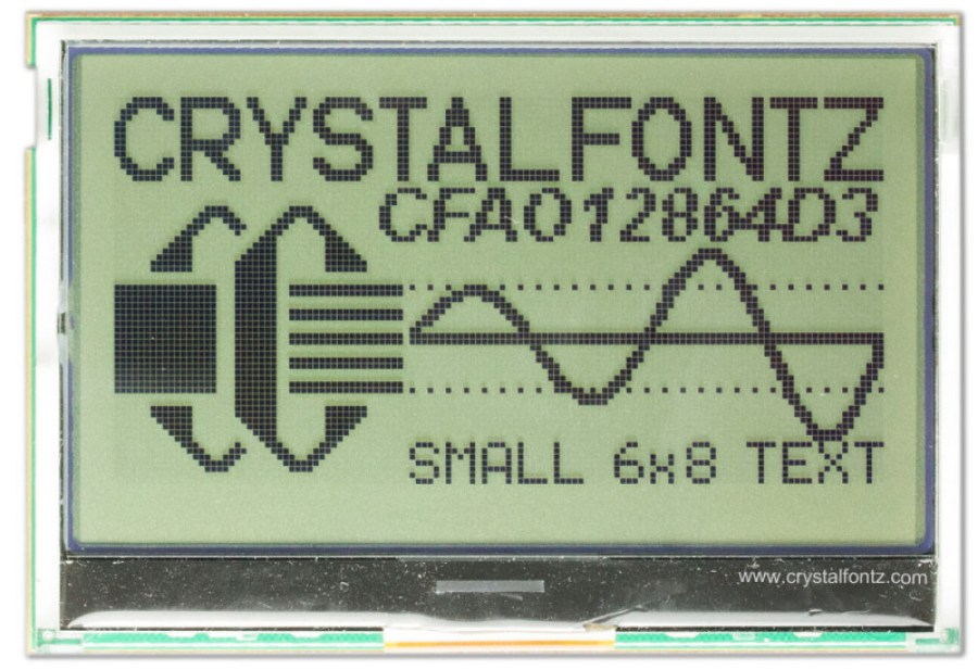 Arduino Shield With Graphic Display