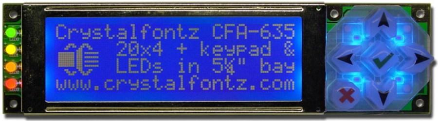 CFA635 LCD Module - crystalfontz.com