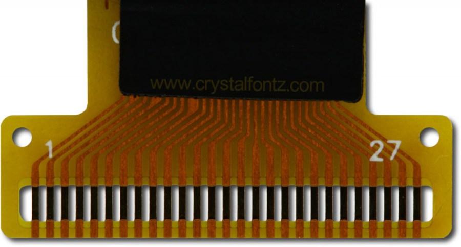 Open Flex Solder Tail - www.crystalfontz.com