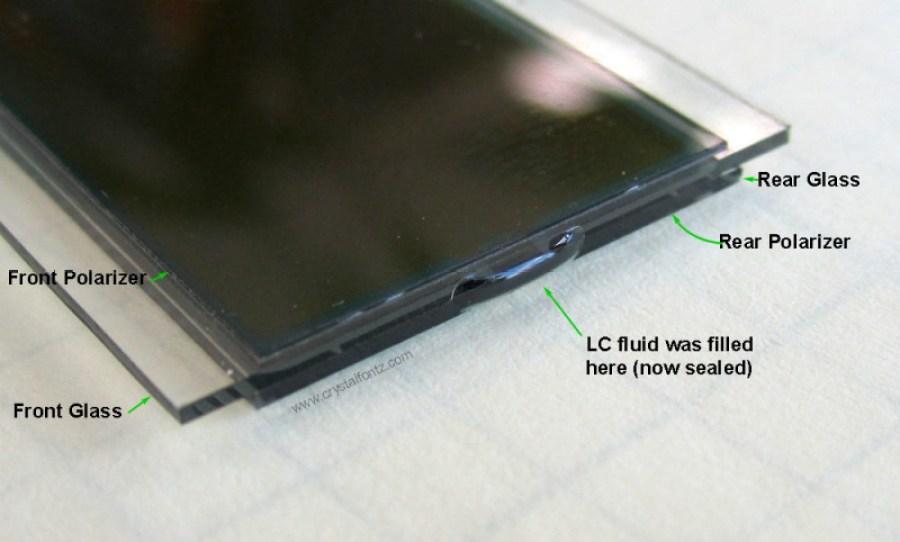 LCD Glass Front Panel - www.crystalfontz.com