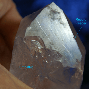empathic broken crystal