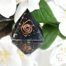 Orgonit minipyramid shungit