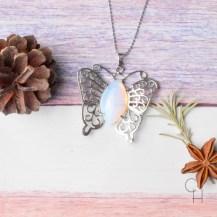 Halsband fjäril opalit