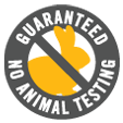 no animal testing at crystal hills organics