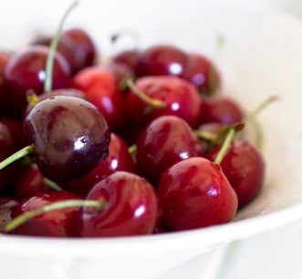 cherry facial mask