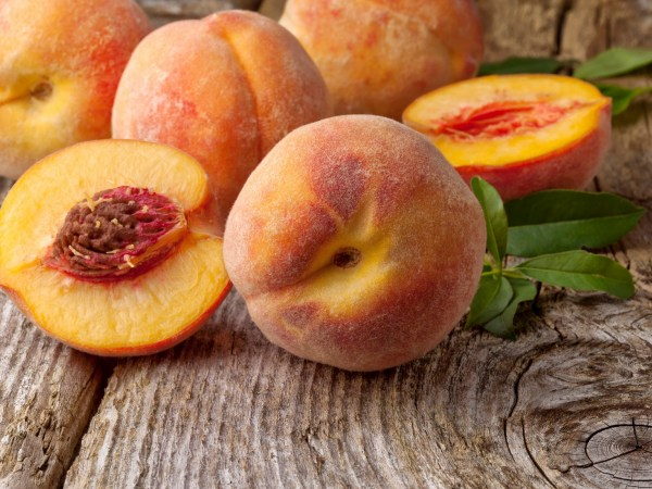 DIY Peach facial mask
