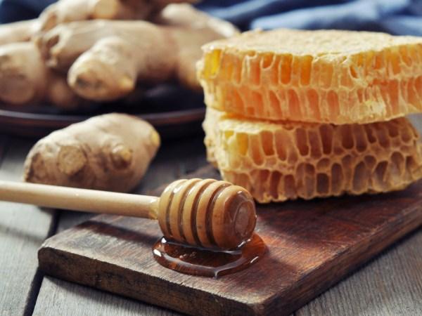 DIY Ginger Honey Scrub