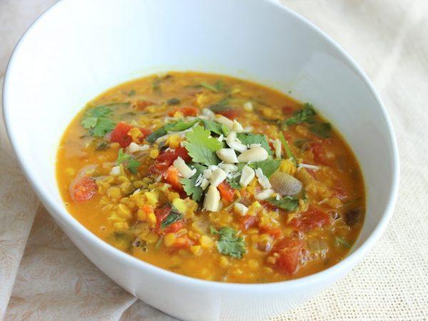 Lentil Masala Soup