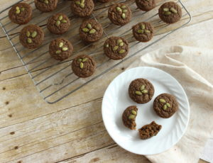 Moringa pumpkin seed muffins