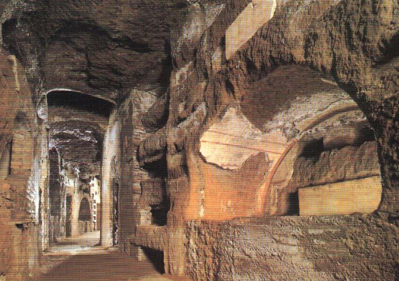 Image result for italy rome catacomb