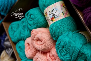 Red Heart Creme de la Creme Cotton Yarn