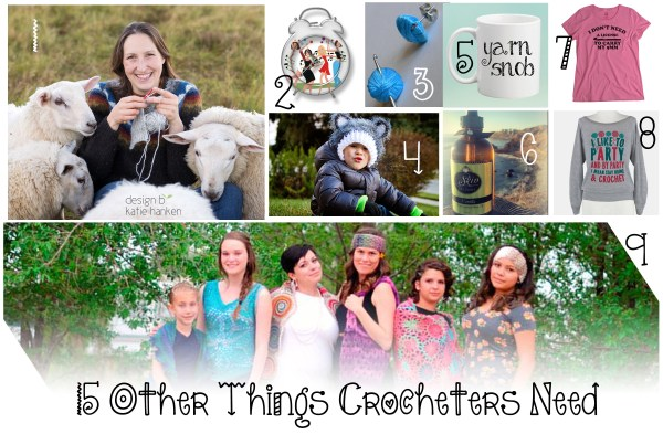 15 other things crocheters need