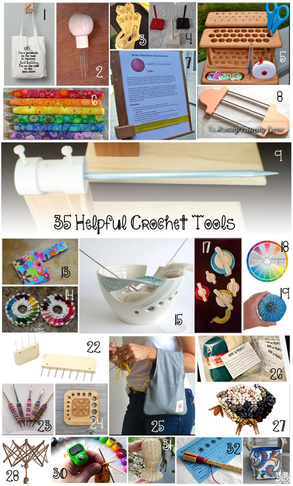 Ultimate Crochet List ~ Helpful Tools