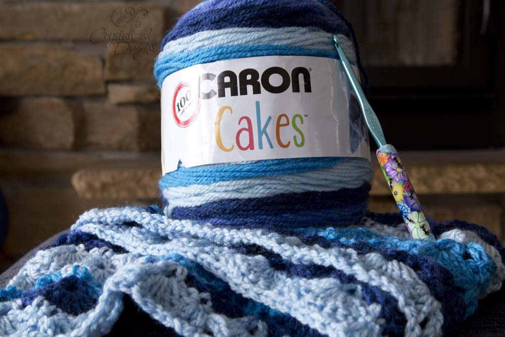 Caron Cake Yarn Review by Crystalized Designs