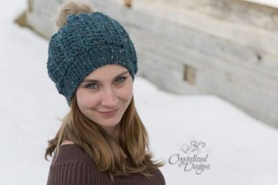 Joslyn Mini Slouch, a Crochet Pattern