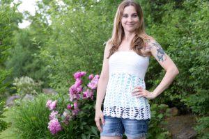 Butterfly Trails Top Crochet Pattern