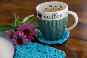 Crochet Coaster Crochet Pattern