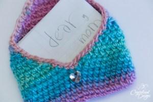 Little Loves Envelope Free Crochet Pattern by Crystalized Designs