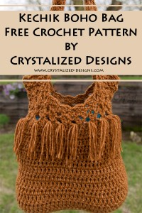 Kechik Boho Bag Free Crochet Pattern by Crystalized Designs