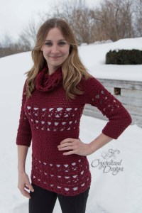 Gemstone Tunic by Crystalized Designs