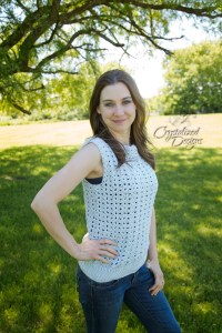 Summer Love Tank by Crystalized Designs