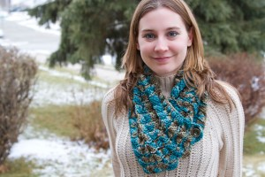Affinity Scarf by Crystalized Designs