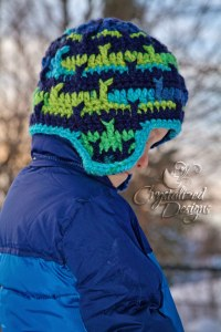 Whale Tale Beanie by Crystalized Designs