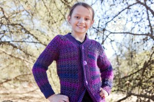 Angella Cardigan CHILD Sizes by Crystalized Designs