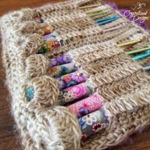 Cascading Crochet Hook Case