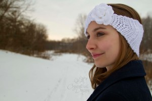 Cherub Cheeks Headband PDF Crochet Pattern by Crystalized Designs