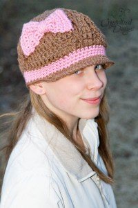 Cabowed Town Newsy PDF Crochet Pattern by Crystalized Designs