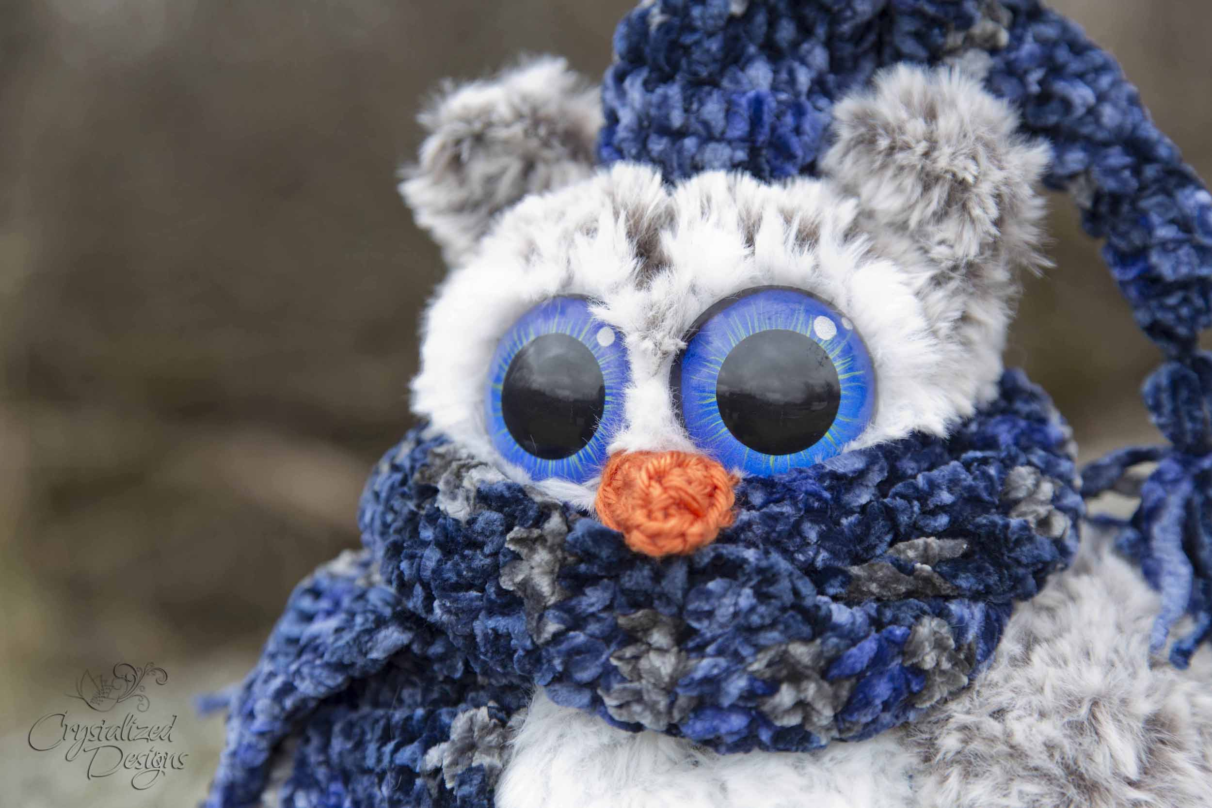 Owen the Owl Free Crochet Pattern by Crystalized Designs