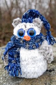 amigurumi free owl crochet pattern