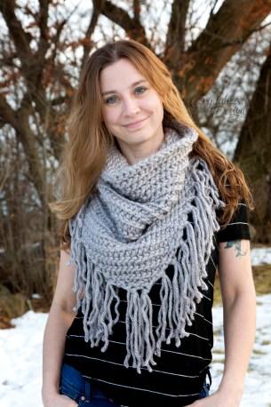 Kellen Cowl Free Crochet Pattern