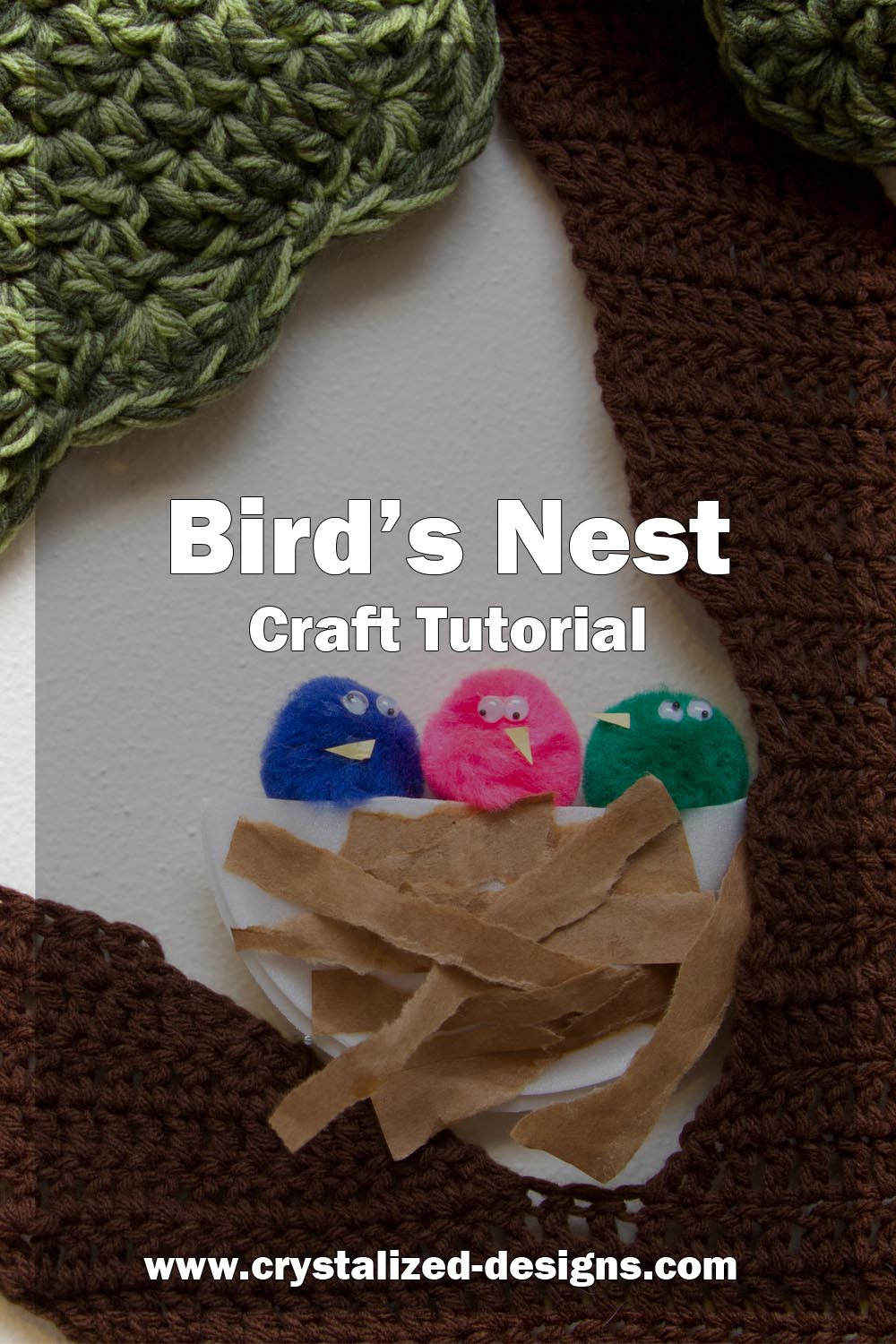 Birds Nest Craft Tutorial by Crystalized Designs