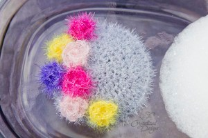 kitchen scrubber crochet pattern