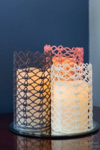 Unconditional Love Candle Sleeve Free Crochet Pattern