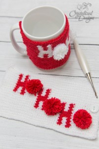 Christmas Mug Cozy Crochet Pattern