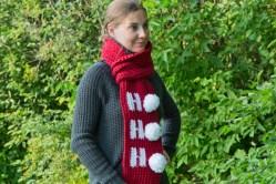 Christmas Scarf Free Crochet Pattern