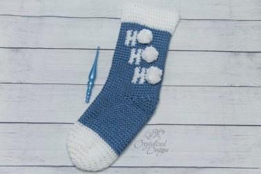Ho Ho Ho Stocking Crochet Pattern