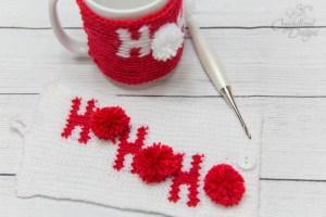 Holiday Mug Cozy Crochet Pattern