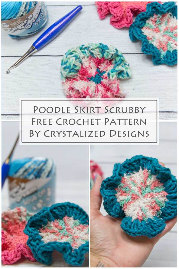 Poodle Skirt Free Crochet Pattern by Crystalized Designs
