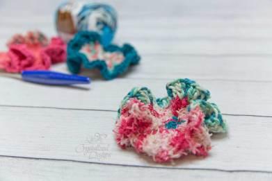 Poodle Skirt Scrubby Free Crochet Pattern