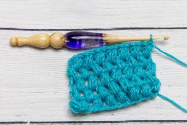 Puff Crochet Stitch Tutorial by Crystalized Designs