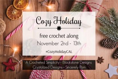 Cozy Holiday Crochet Along