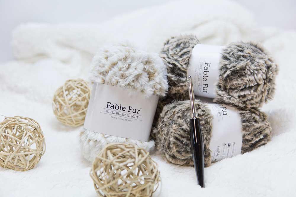 Fable Fur We Crochet Yarn Review