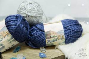 Lion Brand Hometown Yarn Review by Crystalized Designs